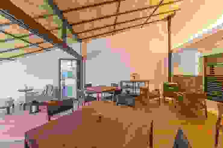 makioto アジア風レストラン の エコリコデザイン一級建築士事務所 和風
