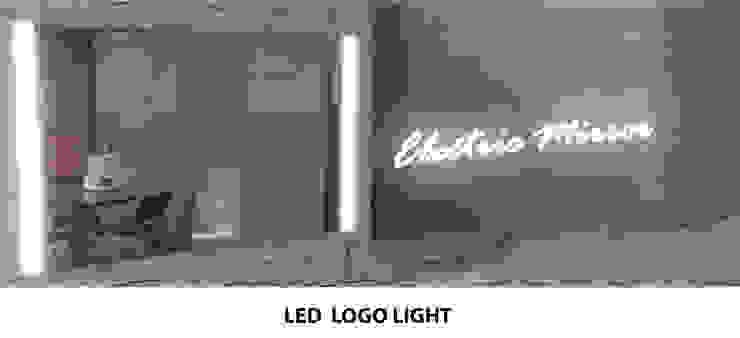 로고 LED  라이팅 기능: 주식회사 에이티옵트로닉스 (AT Optronics Corporation)의 현대 ,모던
