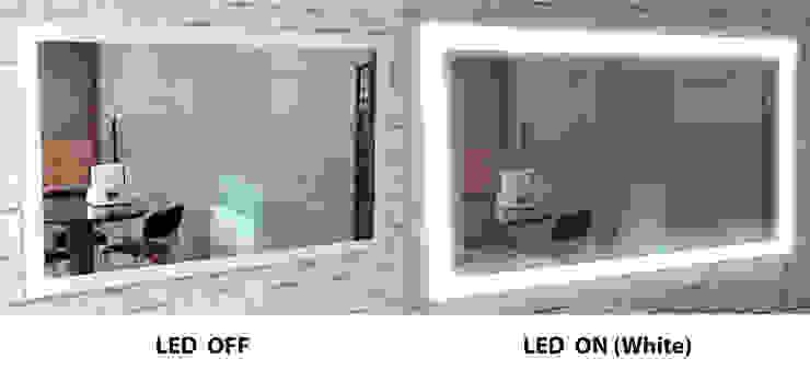 벽걸이형 4면 LED - 백색: 주식회사 에이티옵트로닉스 (AT Optronics Corporation)의 현대 ,모던