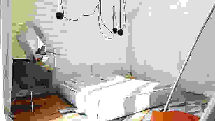 Minimalist bedroom by Apolonov Interiors Minimalist