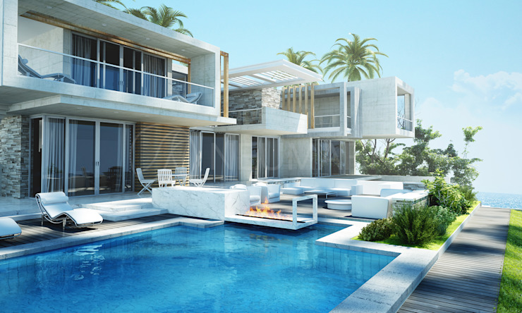 Casas modernas de NEUMARK Moderno