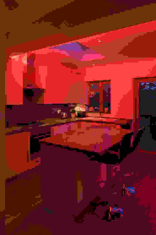 Kitchen Minimalist kitchen by Elektra Lighting Design Minimalist