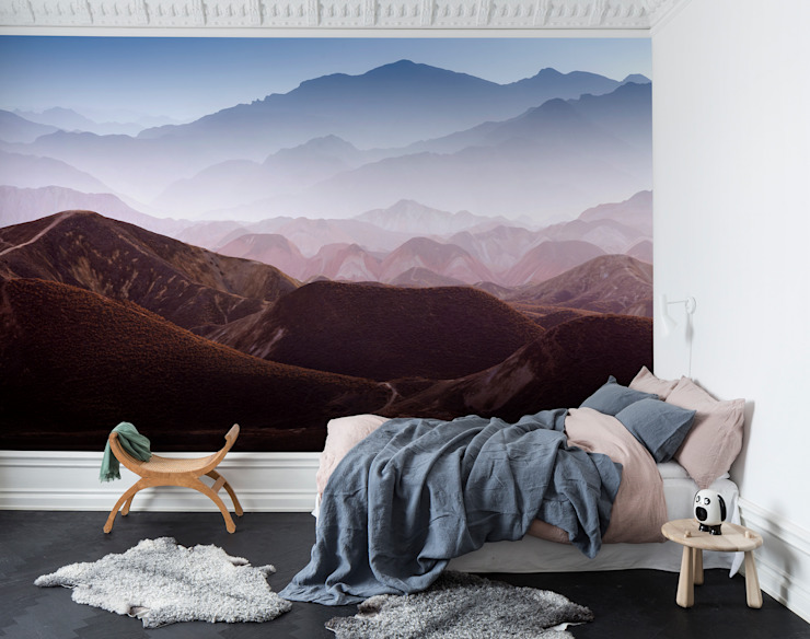 Gradient Mountains homify İskandinav