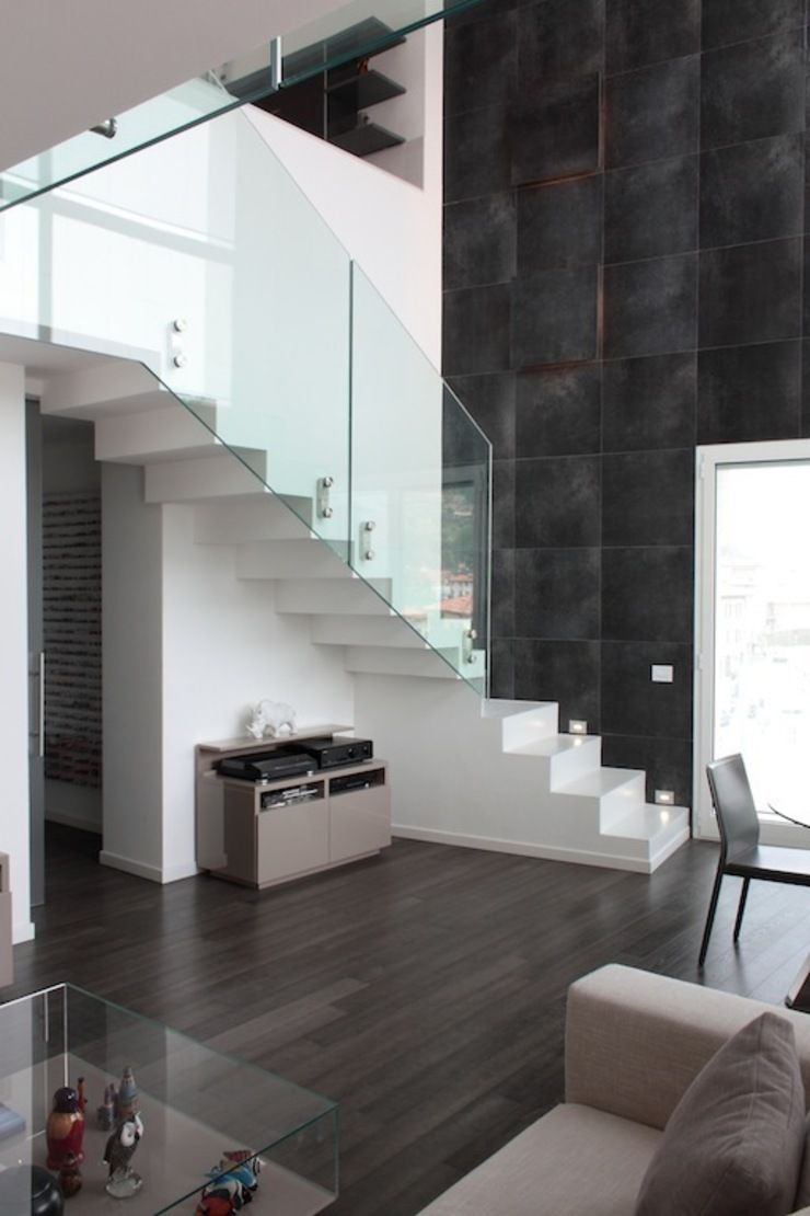 Francesca Bonorandi Corridor, hallway & stairsStairs
