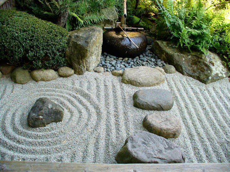 ROJI Japanische Gärten의  정원, 한옥