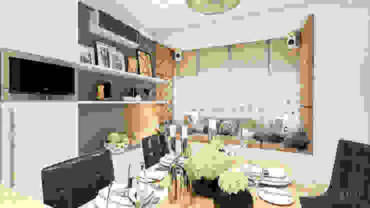 Дизайн интерьера квартиры в Киеве от «Artinterior» Кухня в стиле модерн от «Artinterior» – Студия дизайна интерьера Модерн
