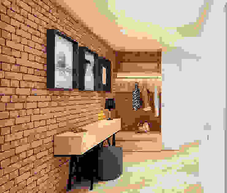 モダンスタイルの 玄関&廊下&階段 の «Artinterior» – Студия дизайна интерьера モダン