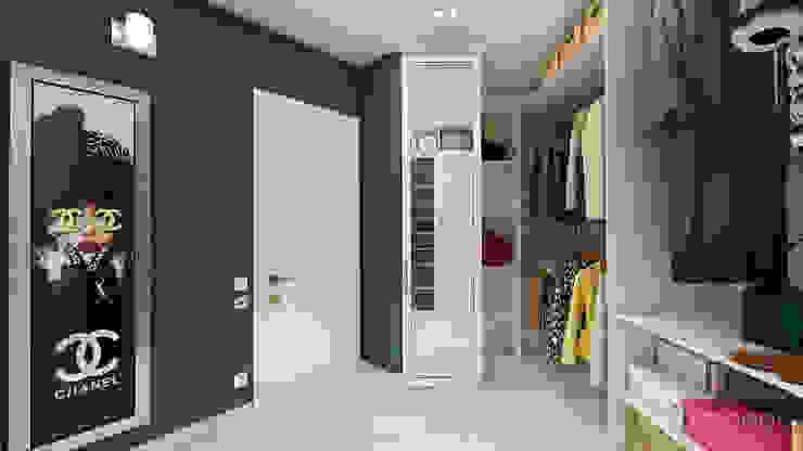 Дизайн интерьера квартиры в Киеве от «Artinterior» Гардеробная в стиле модерн от «Artinterior» – Студия дизайна интерьера Модерн