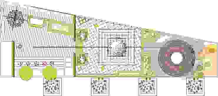 plano en planta/proyecto Aravaca(Madrid) de Jardines secretos