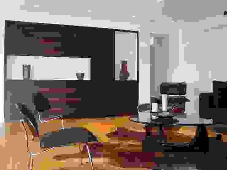 Villa AG11 Skandinavischer Multimedia-Raum von Firmhofer + Günther Architekten Skandinavisch