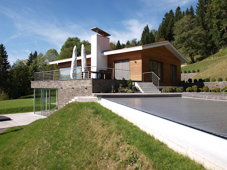 Villa AG11 von Firmhofer + Günther Architekten Skandinavisch