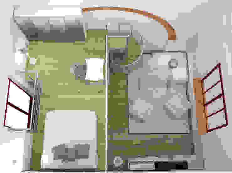 Progetto di ristrutturazione eccOfattO interiors Camera da letto moderna
