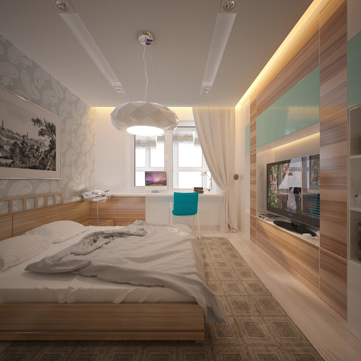 Modern Kid's Room by Artbaza Modern
