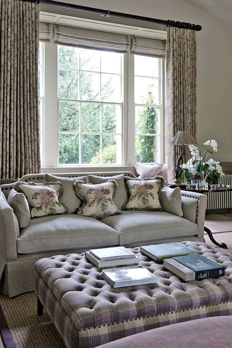 Ansty Manor, Living Room Country style living room by BLA Architects Country