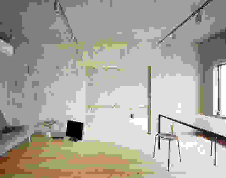 SUGAWAHOUSE: 苅部 寛子建築設計事務所 /OFFICE OF KARIBE HIROKOが手掛けたダイニングです。,ラスティック