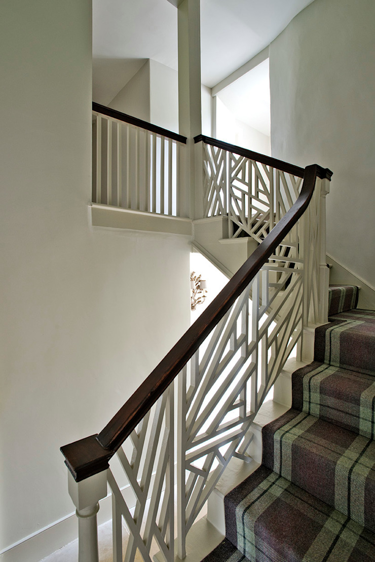 Ansty Manor, Stiarcase Country style corridor, hallway& stairs by BLA Architects Country