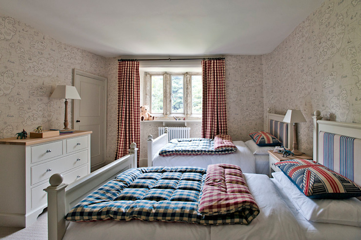 Ansty Manor, Bedroom Country style bedroom by BLA Architects Country