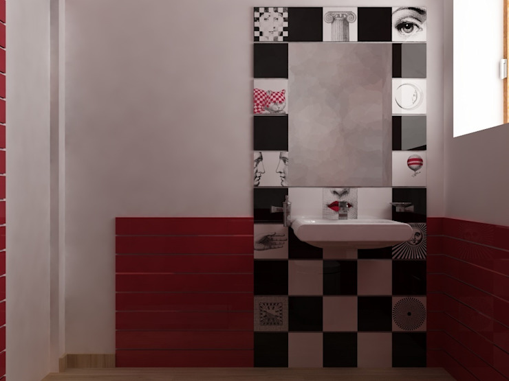 SUPER BLOC SRL Modern Bathroom