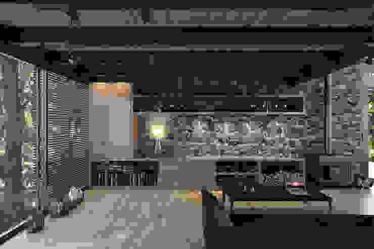 NATURAL LIGHT DESIGN STUDIO Modern living room