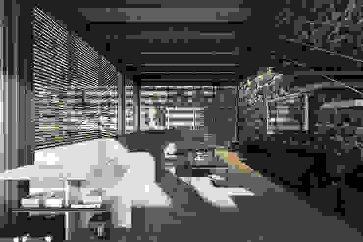 Modern media room by NATURAL LIGHT DESIGN STUDIO Modern