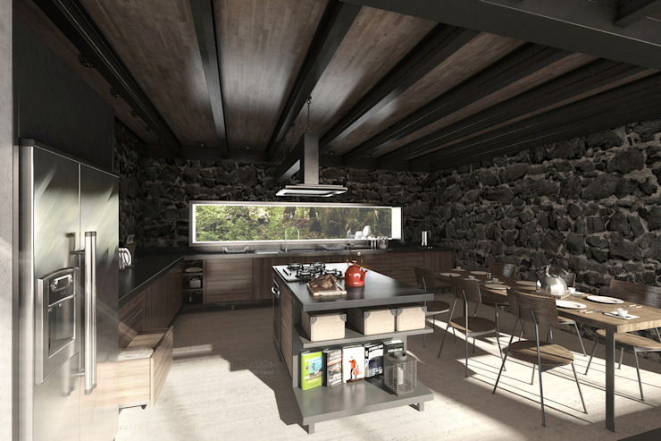 NATURAL LIGHT DESIGN STUDIO Modern kitchen