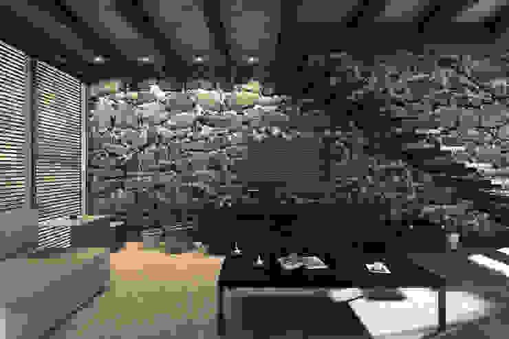 NATURAL LIGHT DESIGN STUDIO Modern media room