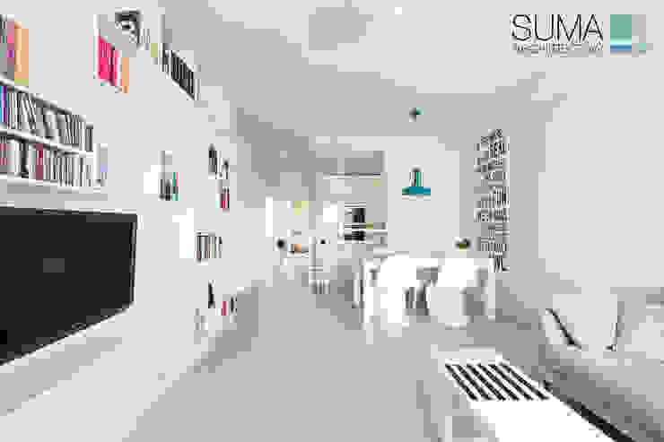 MODERN ONE SUMA Architektów Living room