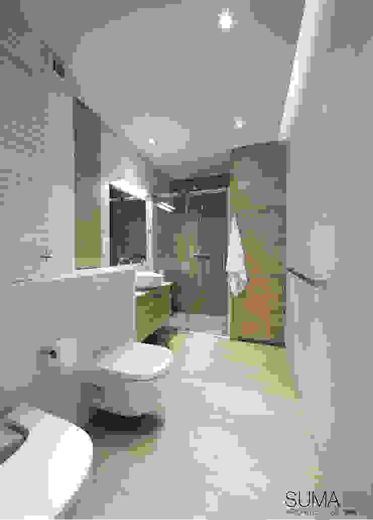 MODERN ONE SUMA Architektów Scandinavian style bathroom