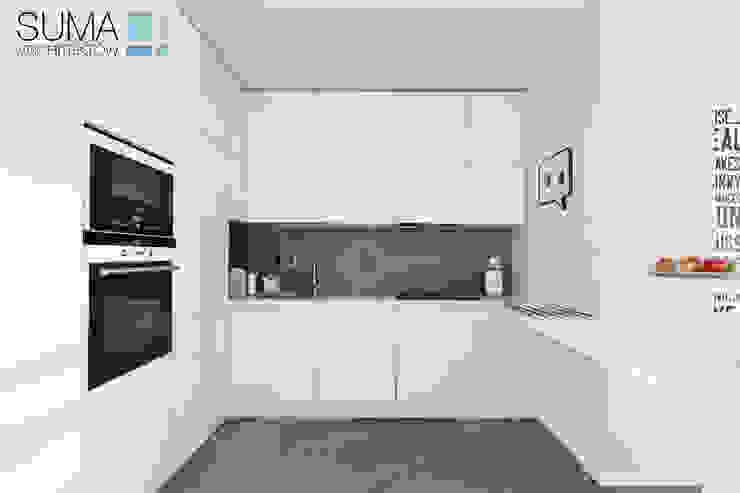 MODERN ONE Skandynawska kuchnia od SUMA Architektów Skandynawski