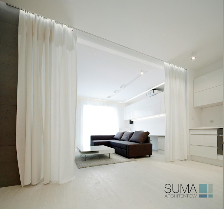 ​WHITE ONE SUMA Architektów 客廳