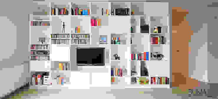 غرفة المعيشة تنفيذ SUMA Architektów, إسكندينافي