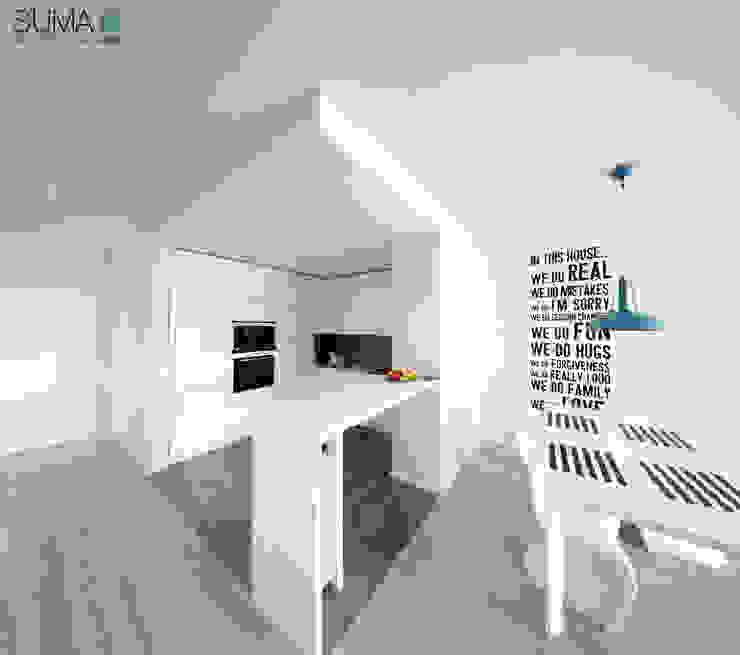 MODERN ONE SUMA Architektów Kitchen
