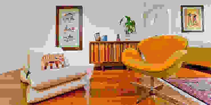 Sala de Estar Salas de estar rústicas por Enzo Sobocinski Arquitetura & Interiores Rústico
