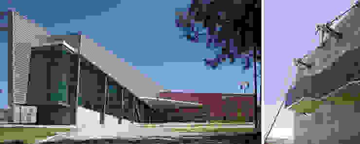 Biblioteca Fernando del Paso, Universidad de Guadalajara Escuelas de estilo moderno de LEAP Laboratorio en Arquitectura Progresiva Moderno