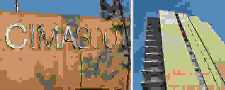 Residencial vertical CIMA 300, Zapopan Casas modernas de LEAP Laboratorio en Arquitectura Progresiva Moderno