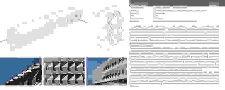 Fachada edificio de Software, IJALTI, Jalisco Edificios de oficinas de estilo moderno de LEAP Laboratorio en Arquitectura Progresiva Moderno