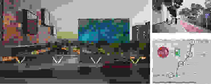Complejo de usos mixtos Ciudad Gobierno de Zapopan Edificios de oficinas de estilo moderno de LEAP Laboratorio en Arquitectura Progresiva Moderno