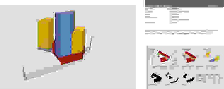 Complejo de usos mixtos Pablo Neruda, Guadalajara Edificios de oficinas de estilo moderno de LEAP Laboratorio en Arquitectura Progresiva Moderno