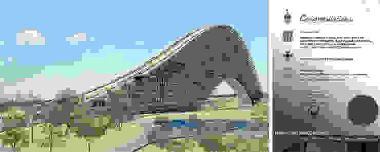 Residencial vertical Rifle Range, Penang, Malasia Casas modernas de LEAP Laboratorio en Arquitectura Progresiva Moderno