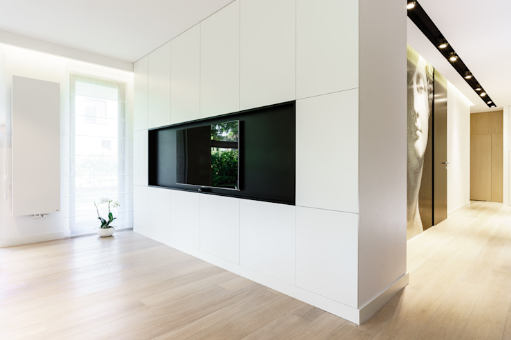 Anna Maria Sokołowska Architektura Wnętrz Minimalist living room