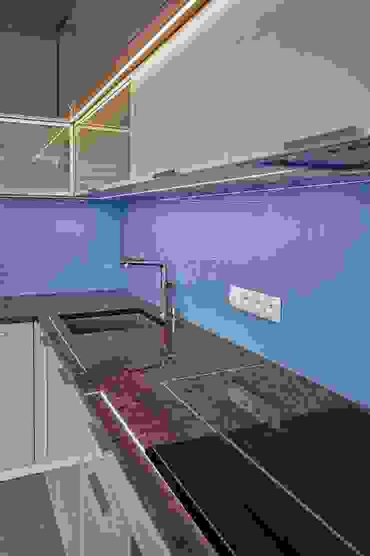 Bliźniak w Pychowicach Minimalistyczna kuchnia od SHOQ STUDIO Architektura i wnętrza Minimalistyczny