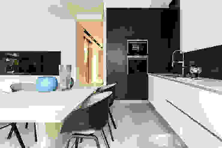 Anna Maria Sokołowska Architektura Wnętrz Minimalist kitchen