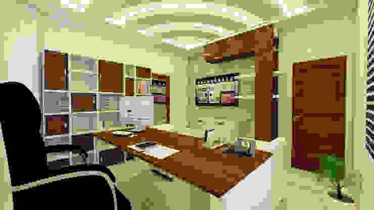 Modern study/office by GÜNAY MİMARLIK Modern