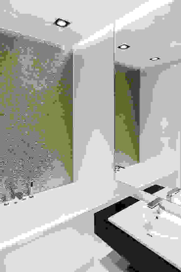 Anna Maria Sokołowska Architektura Wnętrz Minimalist bathroom