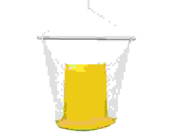 Silla Colgante Brasileña Amarilla con Respaldo de Brasilchic Mediterráneo