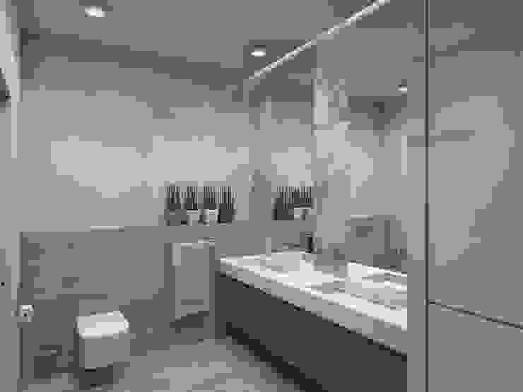Ванная комната. Ванная комната в стиле минимализм от Aleksandra Kostyuchkova Минимализм