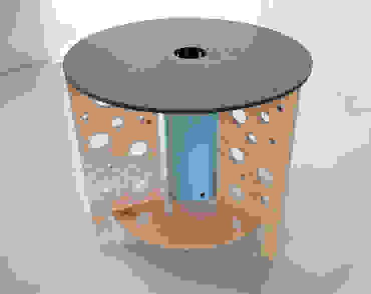 Swiss cheese table od NaNowo Industrial Design Minimalistyczny