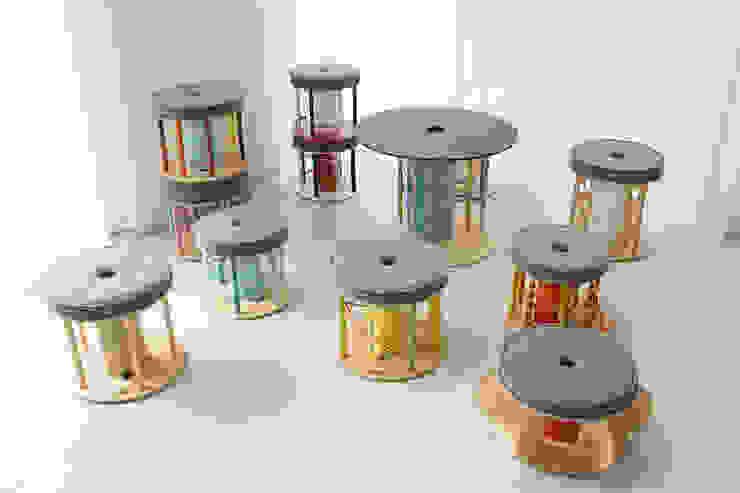 Pufa interaktywna od NaNowo Industrial Design Skandynawski
