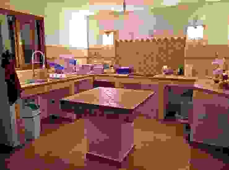 Cozinhas  por Francesca Ianni architetto,
