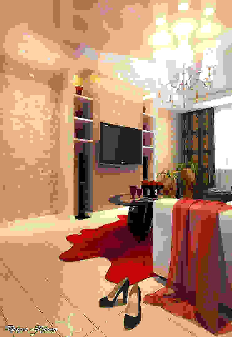 Гостиная Гостиные в эклектичном стиле от Your royal design Эклектичный